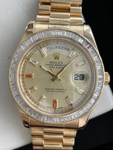 rolex-day-date-ii-president-41mm-champagne-baguette-diamonds-g-series-gold0